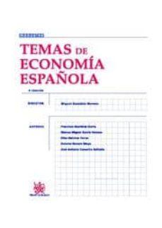 Followusmedia.es Temas De Economia Española (4ª Ed.) Image