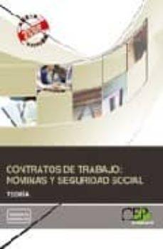 Relaismarechiaro.it Contratos De Trabajo: Nominas Y Seguridad Social. Teoria Image