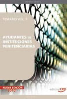 Relaismarechiaro.it Ayudantes De Instituciones Penitenciarias. Temariovol. Ii. Image