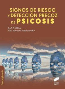 Libros de descarga de audio gratis en línea SIGNOS DE RIESGO Y DETECCION PRECOZ DE PSICOSIS