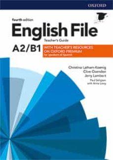 Descarga gratuita de libros en archivos pdf. ENGLISH FILE PRE- INTERMEDIATE  TG+TRC PACK 4ED 9780194055925 CHM PDF (Spanish Edition)