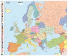 Europa Fisico Mapas En Tubo Michelin Vv Aa Comprar Libro