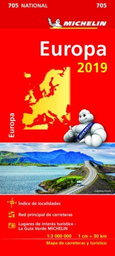 Europa 2019 Mapa National Michelin Vv Aa Comprar Libro
