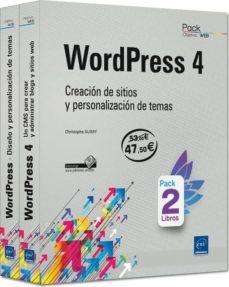 Vinisenzatrucco.it Wordpress 4: Pack De Libros: Creacion De Sitios Y Personalizacion De Temas Image