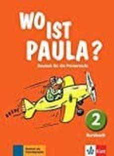 Caja de libro WO IST PAULA? 2 ALUMNO en español de