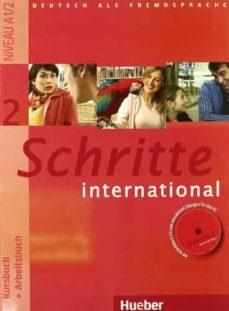 La mejor descarga de libros electrónicos SCHRITE INTERNATIONAL 2 (KB + AB + CD AB + GLOS. XXL) in Spanish MOBI