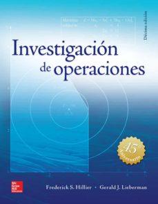 Descargar INVESTIGACION DE OPERACIONES (10ª ED.) gratis pdf - leer online