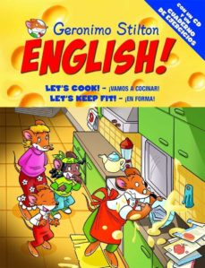 Curiouscongress.es Geronimo Stilton English 10: Let S Cook! Vamos A Cocinar; Let S K Eep Fit! En Forma Image