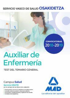 Carreracentenariometro.es Auxiliar De Enfermería De Osakidetza-servicio Vasco De Salud. Tes T General Image