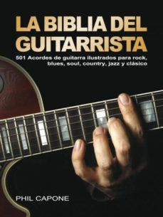 la biblia del guitarrista-phil capone-9788415053125