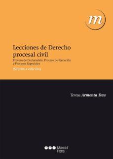 Cdaea.es Lecciones De Derecho Procesal Civil (7ª Ed.) Image
