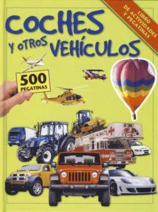 Mrnice.mx Coches Y Otros Vehiculos:_libro De Actividades Y Pegatinas Image