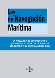 ley de navegacion maritima-9788430964925