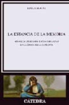 Cdaea.es La Estancia De La Memoria: Modelos Literarios E Iconograficos En La Epoca De La Imprenta Image