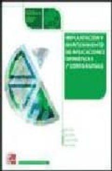 Inmaswan.es Implantacion Y Mantenimiento De Aplicaicones Ofimaticas Corporati Vas (Ciclo Formativo Grado Medio Informatica) Image