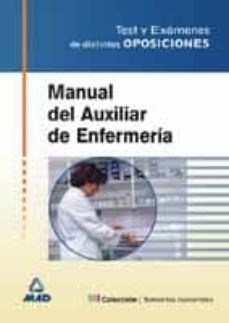 Chapultepecuno.mx Manual De Auxiliar De Enfermeria Test Y Examenes De Distintas Opo Siciones Image