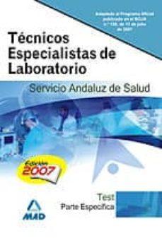 Viamistica.es Tecnicos Especialistas De Laboratorio Del Servicio Andaluz De Sal Ud.test Parte Especifica Image