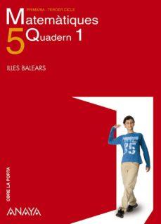 Vinisenzatrucco.it Matemàtiques 5. Quadern 1.illes Balears Catalán Image