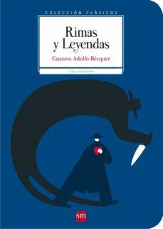 rimas y leyendas-gustavo adolfo bécquer-9788467585025