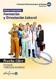 Vinisenzatrucco.it Prueba Libre Para La Obtencion Del Titulo De Tecnico Y De Tecnico Superior. Formacion Y Orientacion Laboral. Image