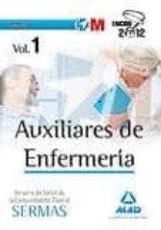 Ironbikepuglia.it Auxiliares De Enfermeria Del Servicio Madrileño De Salud. Temario Vol. I Image