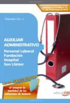 Alienazioneparentale.it Auxiliar Administrativo Personal Laboral Fundacion Hospital Son L Latzer. Temario Vol. Ii Image