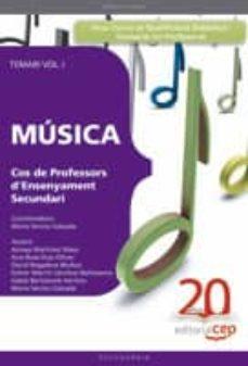 Noticiastoday.es Cos De Professors D Ensenyament Secundari. Música. Temari Vol. I. Image