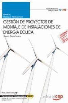 Chapultepecuno.mx Manual Proyectos De Montaje De Instalaciones De Energia Eolica. C Ertificados De Profesionalidad Image