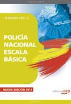 Cdaea.es Policia Nacional Escala Basica. Temario Vol. Ii Image