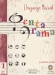 Viamistica.es Pentagrama Llenguatge Musical Nº 1 Grau Mitja (Incluye Cd) Image