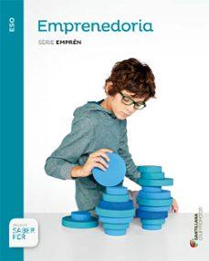 Cdaea.es Emprenedoria. Sèrie Emprèn 3º Secundaria Catala Ed 2015 Image