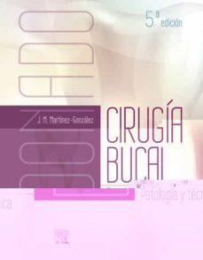 Descargar ebook gratis ipod DONADO. CIRUGÍA BUCAL, 5ª ED 9788491133025 (Literatura española)