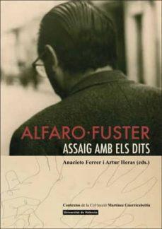 Debatecd.mx Alfaro-fuster. Assaig Amb Els Dits. Image
