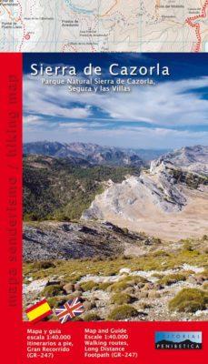 Sierra De Cazorla Y Segura Mapa.Sierra De Cazorla Parque Natural Sierra De Cazorla Segura Y Las Villas 1 40000 Mapa Guia Senderismo Ed Bilingue Espanol Ingles Vv Aa