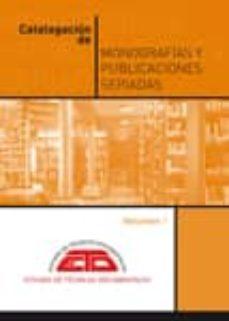 Cdaea.es Catalogacion De Monografias Y Publicaciones Seriadas. Volumen 1 ( 2ª Ed) Image