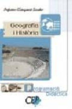 Upgrade6a.es Programacio Didactica Geografia I Historia: Cos De Professors D E Nsenyament Secundari Image