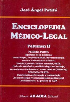 Chapultepecuno.mx Enciclopedia Medico-legal. Vol. Ii. Primera Parte. Image