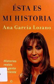 ÉSTA ES MI HISTORIA - ANA GARCÍA LOZANO | Adahalicante.org