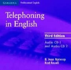 Ebook descarga gratuita archivo jar TELEPHONING IN ENGLISH (3RD ED.) (CD) DJVU PDB FB2 9780521539135 en español