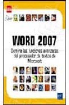 Padella.mx Word 2007: Domine Las Funciones Avanzadas Del Procesador De Texto Microsoft Image
