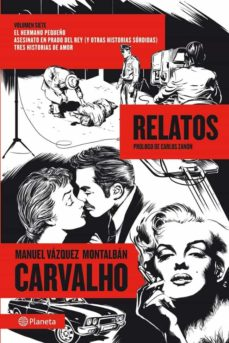 Descargar epub english CARVALHO: RELATOS 9788408112235 de MANUEL VAZQUEZ MONTALBAN
