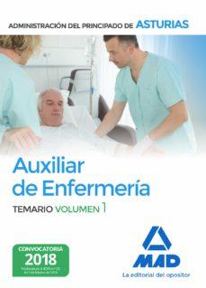 auxiliar de enfermeria de la administracion del principado de asturias (vol. 1)-9788414215135
