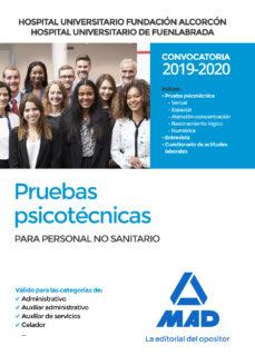 Ebook descargable gratis HOSPITAL UNIVERSITARIO FUNDACION DE ALCORCON Y HOSPITAL UNIVERSITARIO ARIO DE FUENLABRADA: PRUEBAS PSICOTECNICAS PARA     PARA PERSONAL NO SANITARIO (CELADOR, AUXILIAR DE SERVICIOS,     AUXIL en español de ROCIO CLAVIJO GAMERO
