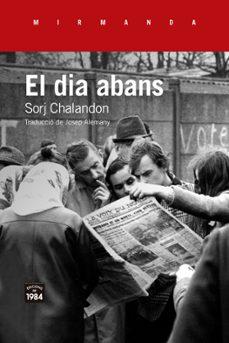Descargar libros en linea para ipad EL DIA ABANS 9788416987535 CHM FB2 RTF in Spanish