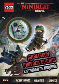 the lego ninjago movie: ¡garmadon provoca el caos en ciudad de ninjago!-9788417206635