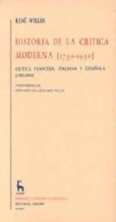 Upgrade6a.es La Segunda Mitad Del Siglo Xviii (Historia De La Critica Moderna (1750-1950); T.1) Image