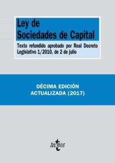 ley de sociedades de capital (10ª ed.) 2017-9788430971435