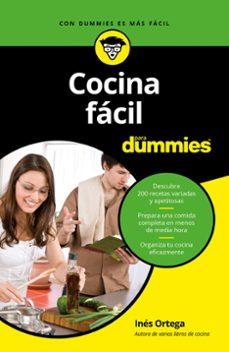 cocina facil para dummies-ines ortega-9788432904035
