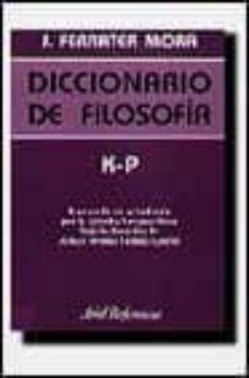 Javiercoterillo.es K-p: Diccionario De Filosofia (Vol. 3) Image