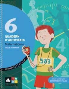Permacultivo.es Matemàtiques 6 Quadern Activitats (Projecte Tram) Image